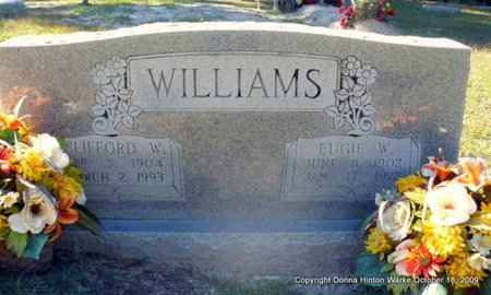 WILLIAMS, EUGIE W - Natchitoches County, Louisiana | EUGIE W WILLIAMS - Louisiana Gravestone Photos