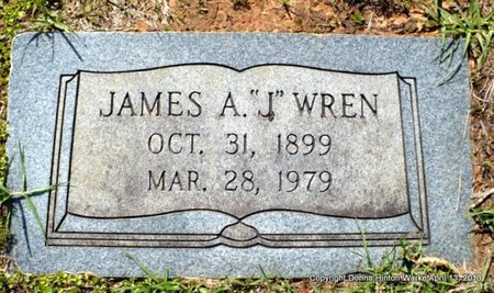 "WREN WREN, JAMES ANDERSON ""AJ"" - Natchitoches County, Louisiana 