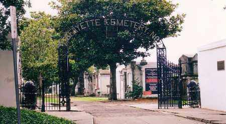 *GATE,  - Orleans County, Louisiana    *GATE - Louisiana Gravestone Photos