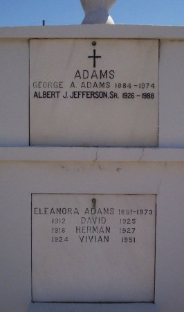 ADAMS, HERMAN - Orleans County, Louisiana | HERMAN ADAMS - Louisiana Gravestone Photos