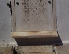 ADAMS, LOUISIANA - Orleans County, Louisiana | LOUISIANA ADAMS - Louisiana Gravestone Photos