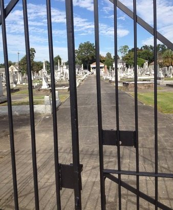 * GATE & OVERVIEW,  - Orleans County, Louisiana    * GATE & OVERVIEW - Louisiana Gravestone Photos