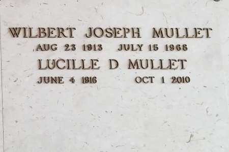 DUGAS MULLET, LUCILLE - Orleans County, Louisiana | LUCILLE DUGAS MULLET - Louisiana Gravestone Photos