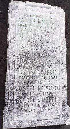 SMITH, EDWARD J - Orleans County, Louisiana | EDWARD J SMITH - Louisiana Gravestone Photos