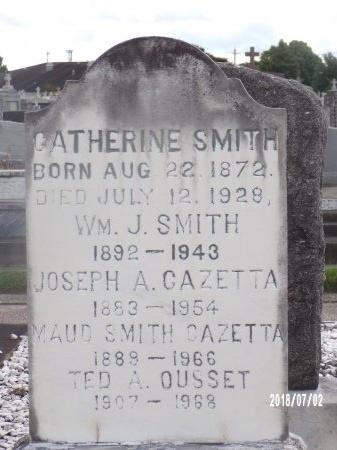 SMITH, WILLIAM J - Orleans County, Louisiana   WILLIAM J SMITH - Louisiana Gravestone Photos