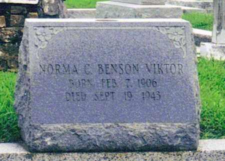 BENSON VIKTOR, NORMA C - Orleans County, Louisiana | NORMA C BENSON VIKTOR - Louisiana Gravestone Photos