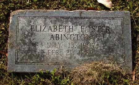 ABINGTON, ELIZABETH - Ouachita County, Louisiana | ELIZABETH ABINGTON - Louisiana Gravestone Photos