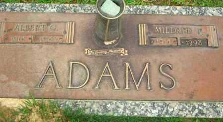 ADAMS, MILDRED P - Ouachita County, Louisiana | MILDRED P ADAMS - Louisiana Gravestone Photos