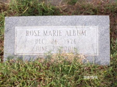 ALBUM, ROSE MARIE - Ouachita County, Louisiana | ROSE MARIE ALBUM - Louisiana Gravestone Photos