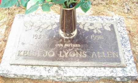 LYONS ALLEN, KELLI JO - Ouachita County, Louisiana | KELLI JO LYONS ALLEN - Louisiana Gravestone Photos