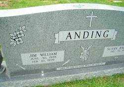 ANDING, JIM WILLIAM - Ouachita County, Louisiana | JIM WILLIAM ANDING - Louisiana Gravestone Photos