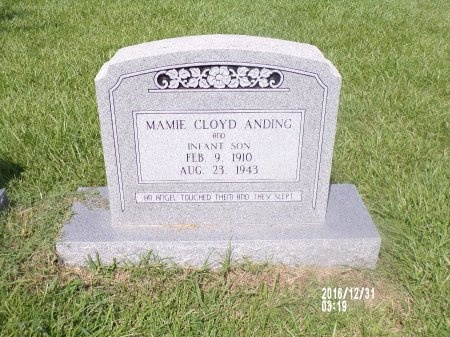 ANDING, INFANT SON - Ouachita County, Louisiana | INFANT SON ANDING - Louisiana Gravestone Photos