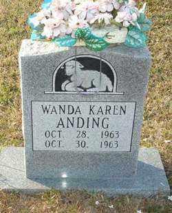 ANDING, WANDA KAREN - Ouachita County, Louisiana   WANDA KAREN ANDING - Louisiana Gravestone Photos
