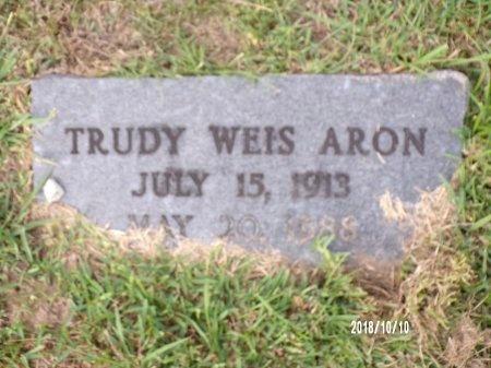 "ARON, GERTRUDE ""TRUDY"" - Ouachita County, Louisiana | GERTRUDE ""TRUDY"" ARON - Louisiana Gravestone Photos"