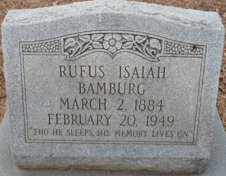 BAMBURG, RUFUS ISAIAH - Ouachita County, Louisiana | RUFUS ISAIAH BAMBURG - Louisiana Gravestone Photos