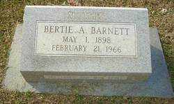 BARNETT, BERTIE A - Ouachita County, Louisiana | BERTIE A BARNETT - Louisiana Gravestone Photos