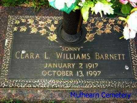 "BARNETT, CLARA L  ""SONNY"" - Ouachita County, Louisiana | CLARA L  ""SONNY"" BARNETT - Louisiana Gravestone Photos"