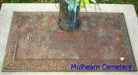 BARNETT, JOHN MARSHAL - Ouachita County, Louisiana   JOHN MARSHAL BARNETT - Louisiana Gravestone Photos