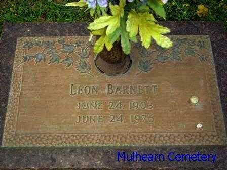 BARNETT, LEON - Ouachita County, Louisiana | LEON BARNETT - Louisiana Gravestone Photos
