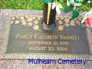 BARNETT, NANCY ELIZABETH - Ouachita County, Louisiana | NANCY ELIZABETH BARNETT - Louisiana Gravestone Photos