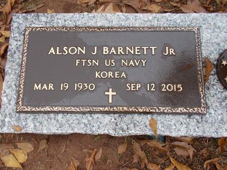 BARNETT, ALSON J, JR (VETERAN KOR) - Ouachita County, Louisiana   ALSON J, JR (VETERAN KOR) BARNETT - Louisiana Gravestone Photos