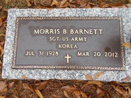 BARNETT, MORRIS B (VETERAN KOR) - Ouachita County, Louisiana | MORRIS B (VETERAN KOR) BARNETT - Louisiana Gravestone Photos