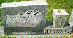 BARNETT, VINSON WILLIE - Ouachita County, Louisiana | VINSON WILLIE BARNETT - Louisiana Gravestone Photos
