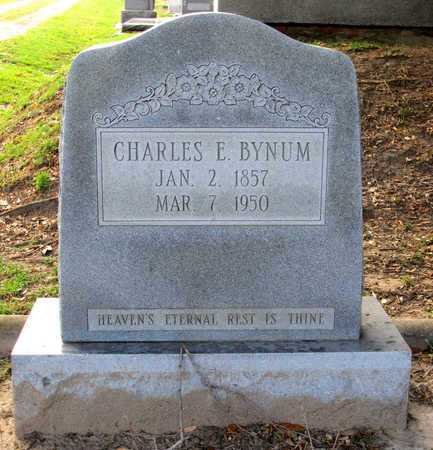 BYNUM, CHARLES E - Ouachita County, Louisiana | CHARLES E BYNUM - Louisiana Gravestone Photos
