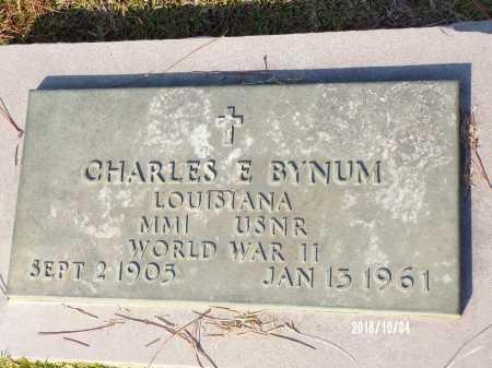 BYNUM, CHARLES E  (VETERAN WWII) - Ouachita County, Louisiana   CHARLES E  (VETERAN WWII) BYNUM - Louisiana Gravestone Photos