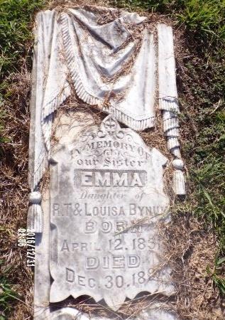 BYNUM, EMMA - Ouachita County, Louisiana | EMMA BYNUM - Louisiana Gravestone Photos