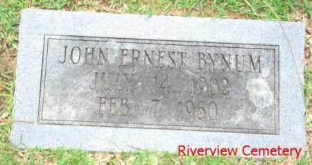 BYNUM, JOHN ERNEST - Ouachita County, Louisiana | JOHN ERNEST BYNUM - Louisiana Gravestone Photos