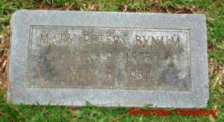 BYNUM, MARY - Ouachita County, Louisiana | MARY BYNUM - Louisiana Gravestone Photos
