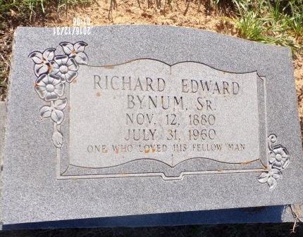 BYNUM, RICHARD EDWARD, SR - Ouachita County, Louisiana   RICHARD EDWARD, SR BYNUM - Louisiana Gravestone Photos