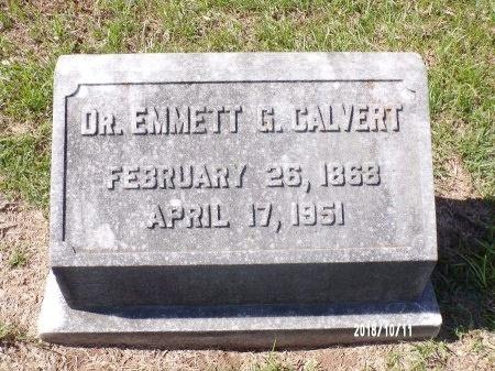CALVERT, EMMETT G, DR - Ouachita County, Louisiana | EMMETT G, DR CALVERT - Louisiana Gravestone Photos