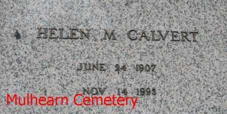 CALVERT, HELEN M - Ouachita County, Louisiana | HELEN M CALVERT - Louisiana Gravestone Photos