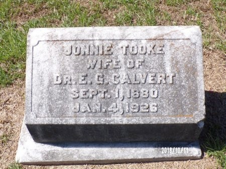 CALVERT, JONNIE - Ouachita County, Louisiana | JONNIE CALVERT - Louisiana Gravestone Photos