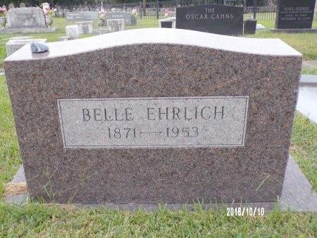 EHRLICH, BELLE - Ouachita County, Louisiana   BELLE EHRLICH - Louisiana Gravestone Photos