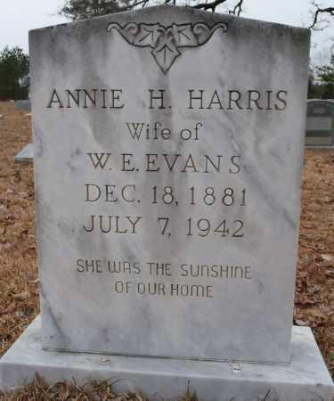 EVANS, ANNIE H - Ouachita County, Louisiana | ANNIE H EVANS - Louisiana Gravestone Photos