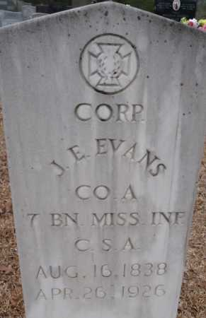 EVANS, JOHN E (VETERAN CSA) - Ouachita County, Louisiana | JOHN E (VETERAN CSA) EVANS - Louisiana Gravestone Photos