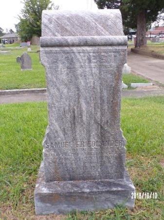 FRIEDLANDER, SAMUEL - Ouachita County, Louisiana | SAMUEL FRIEDLANDER - Louisiana Gravestone Photos