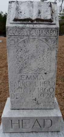 HEAD, EMMA KATHERINE - Ouachita County, Louisiana | EMMA KATHERINE HEAD - Louisiana Gravestone Photos