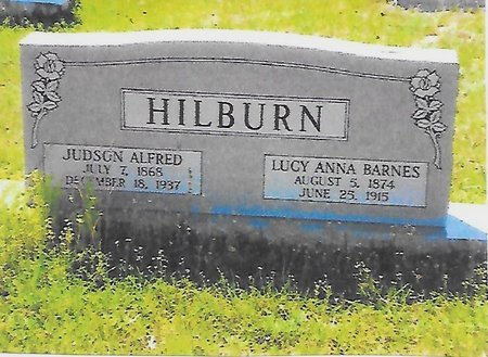 HILBURN, JUDSON ALFRED - Ouachita County, Louisiana | JUDSON ALFRED HILBURN - Louisiana Gravestone Photos