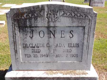 JONES, CLAUDE C, DR - Ouachita County, Louisiana | CLAUDE C, DR JONES - Louisiana Gravestone Photos