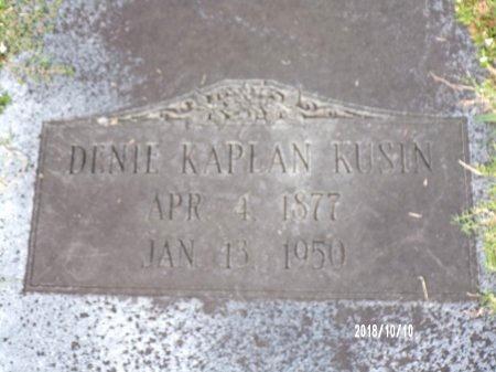 KAPLAN KUSIN, DENIE - Ouachita County, Louisiana | DENIE KAPLAN KUSIN - Louisiana Gravestone Photos