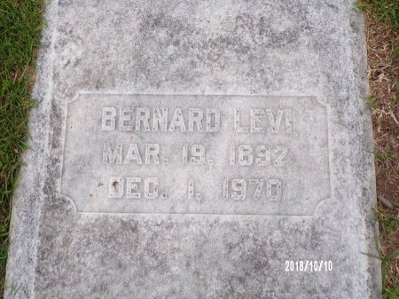 LEVI, BERNARD - Ouachita County, Louisiana | BERNARD LEVI - Louisiana Gravestone Photos