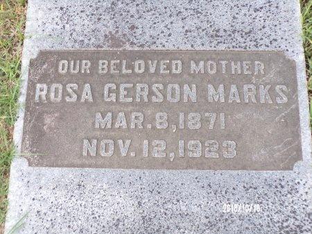 GERSON MARKS, ROSA - Ouachita County, Louisiana | ROSA GERSON MARKS - Louisiana Gravestone Photos