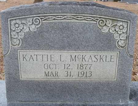 HEAD MCKASKLE, KATTIE LUCINDA - Ouachita County, Louisiana | KATTIE LUCINDA HEAD MCKASKLE - Louisiana Gravestone Photos