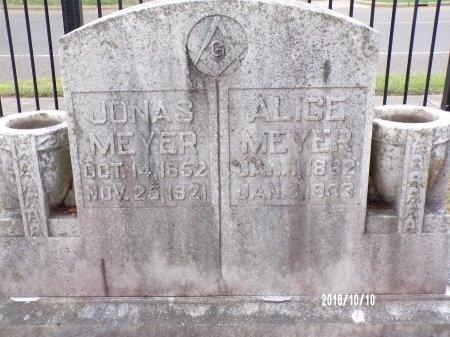 MEYER, JONAS - Ouachita County, Louisiana   JONAS MEYER - Louisiana Gravestone Photos