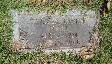 MILLS, CHESTER ERNEST - Ouachita County, Louisiana   CHESTER ERNEST MILLS - Louisiana Gravestone Photos