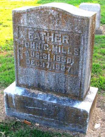 MILLS, JOHN C - Ouachita County, Louisiana   JOHN C MILLS - Louisiana Gravestone Photos